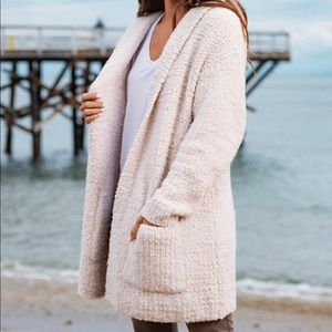 NWT Barefoot Dreams Boucle Cardigan size S/M $168